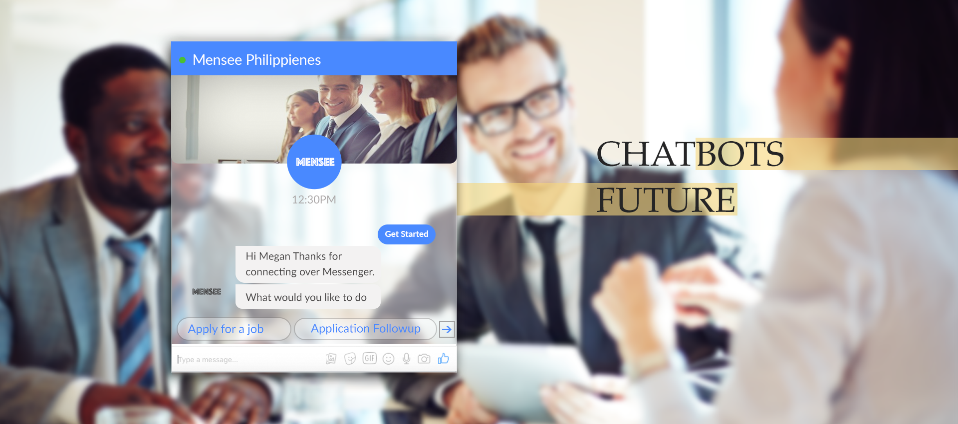 Chatbot Developement banner img